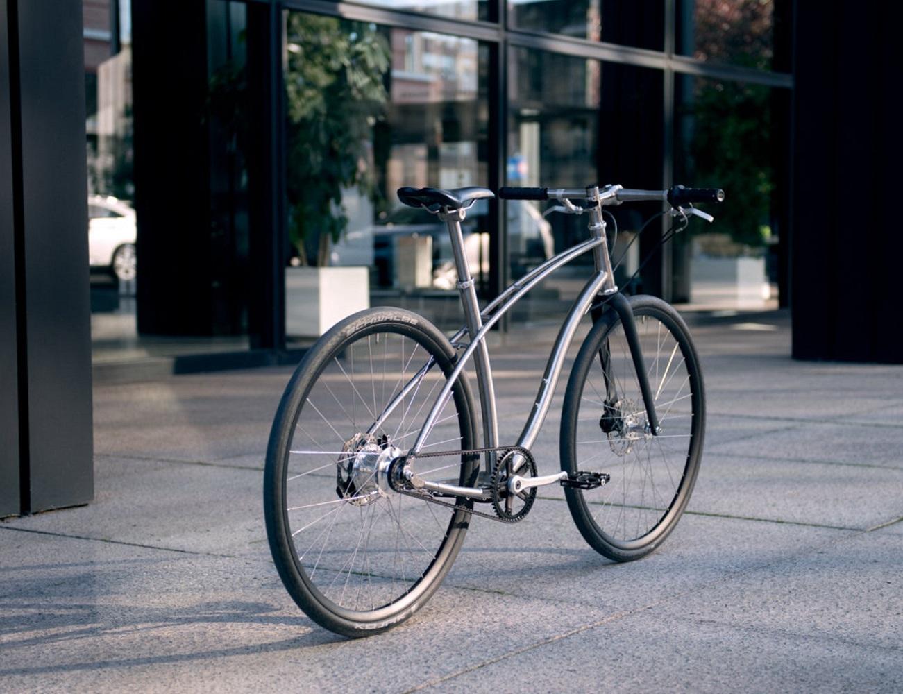 N0.1 Titanium Bike by Budnitz Bicycles