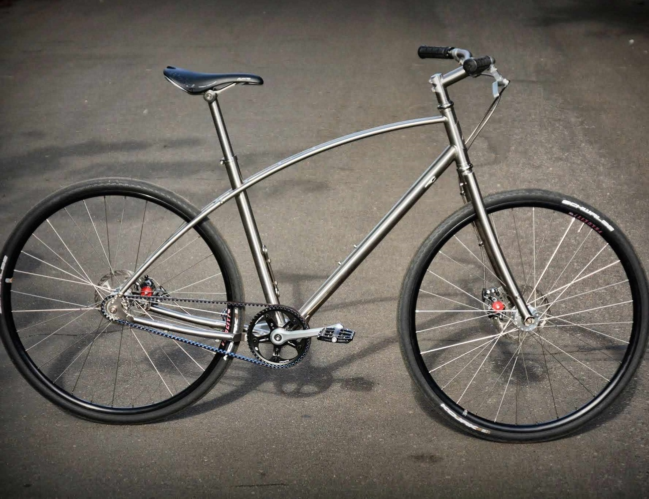 N0.1 Titanium Bike by Budnitz Bicycles