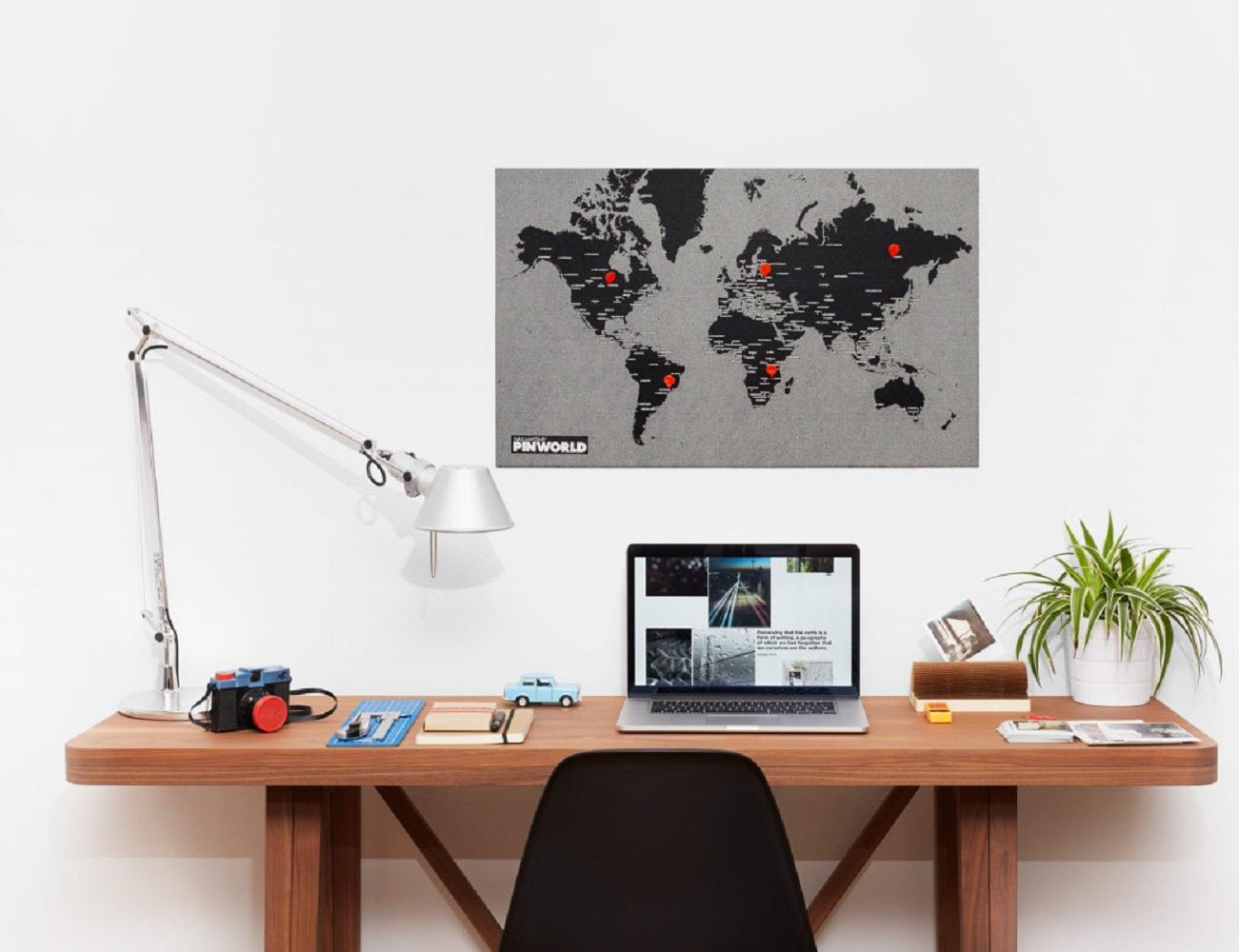 Pin World Wall Map
