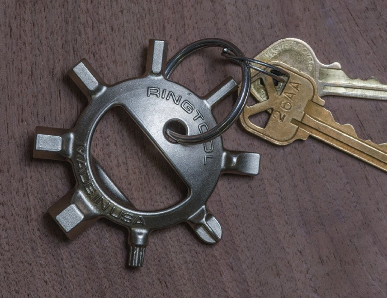 Ringtool Multi-Tool Keychain