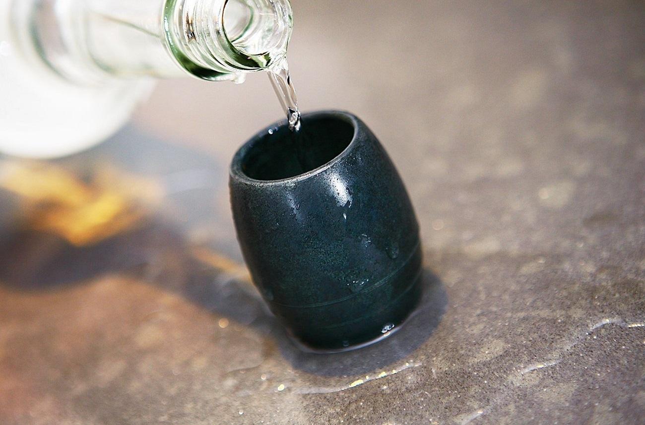 SPARQ Soapstone Tulip Shot Glass Set