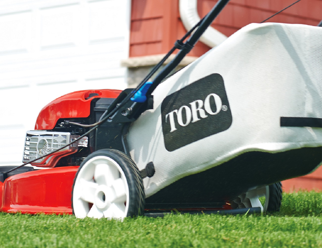 SmartStow Mower by Toro
