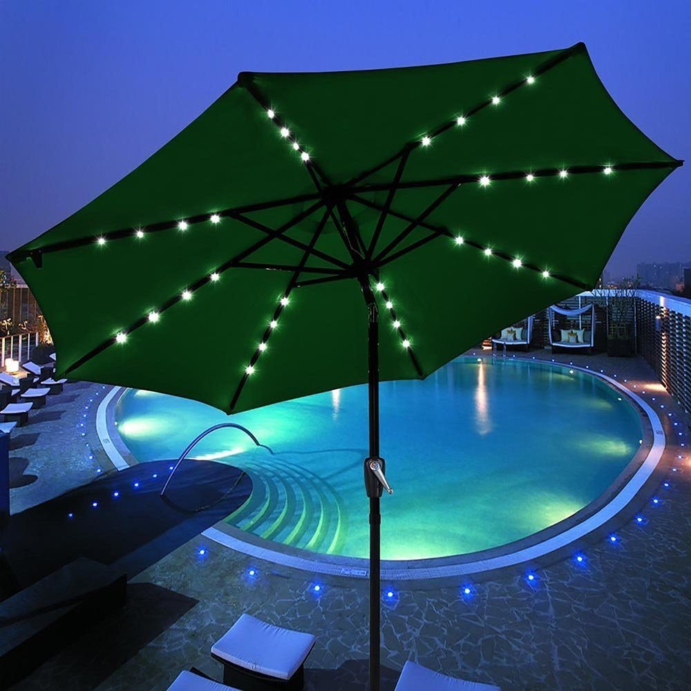 Solar Powered Patio Umbrella ...