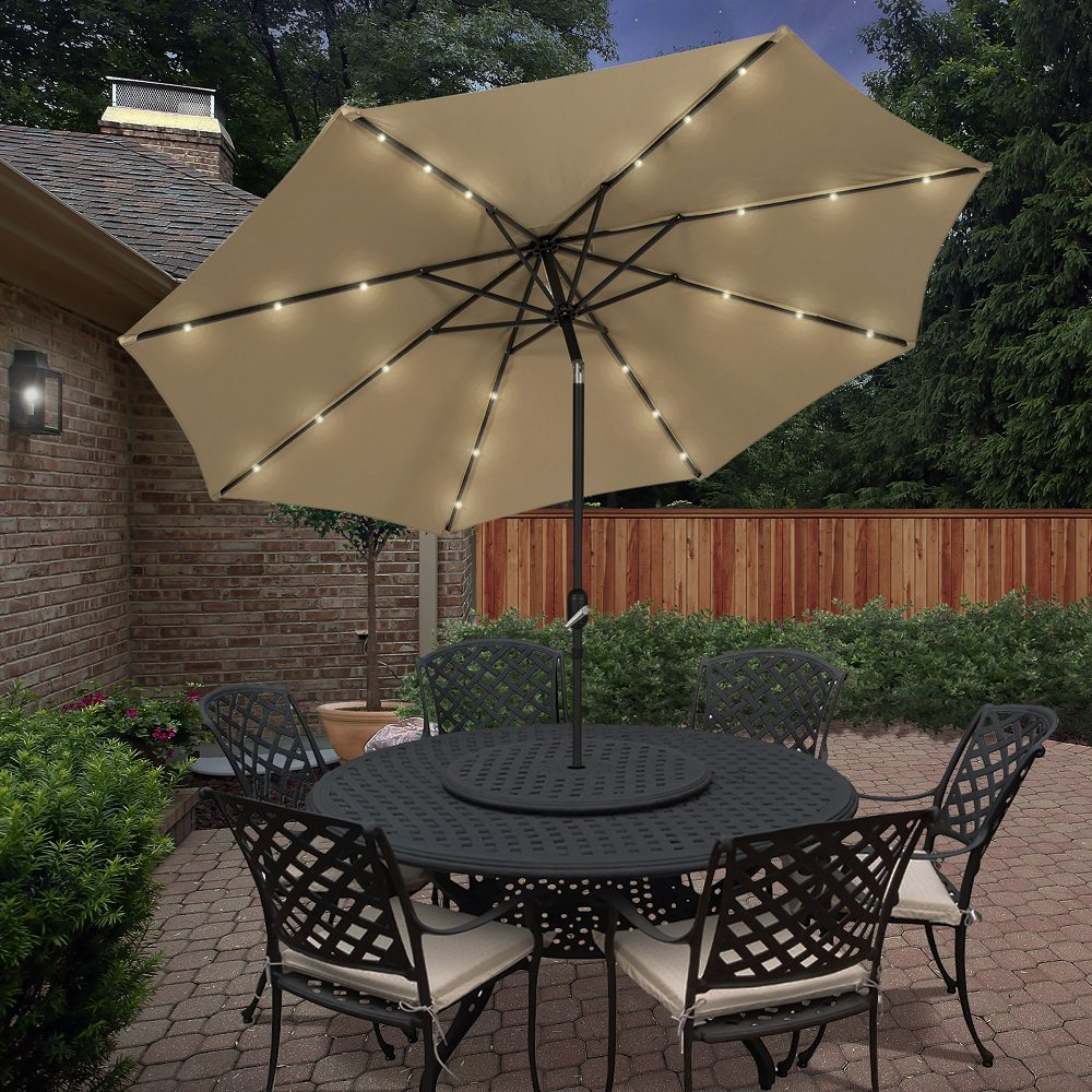 chocolate outdoors canada furniture depot en in the accessories patio home categories umbrella and p umbrellas