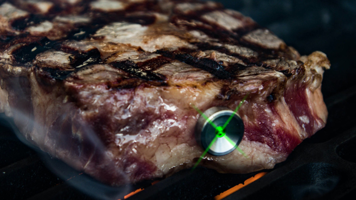 Sur La Table SteakChamp Thermometer Meat Temperature Gauge is an accurate way to cook meat