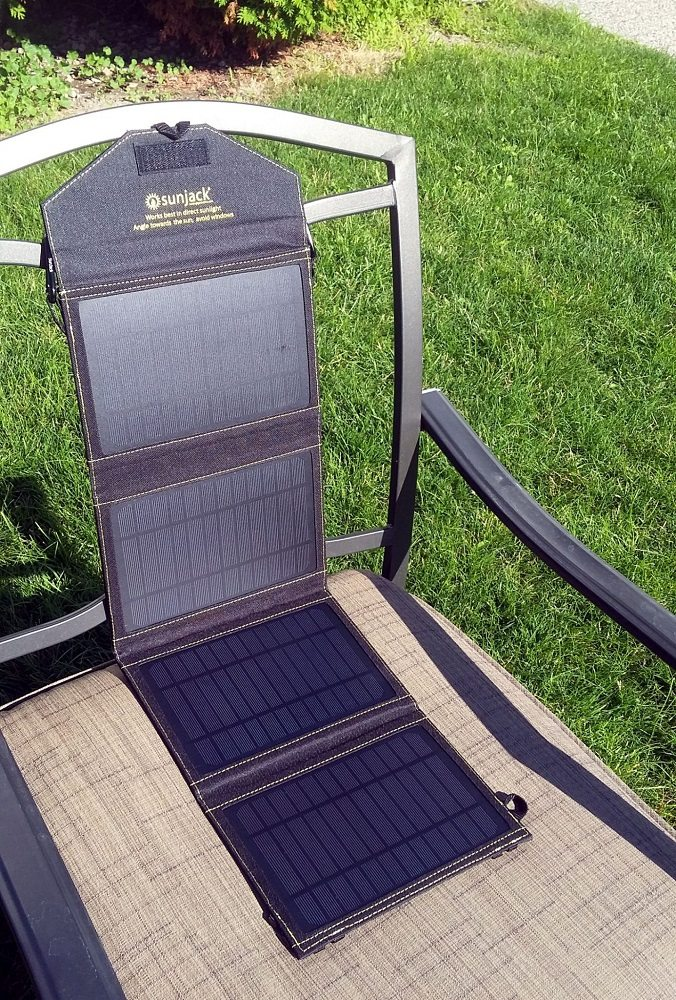 The SunJack Solar Charger