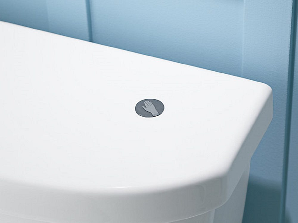 Touchless Toilet Flush Kit by Kohler