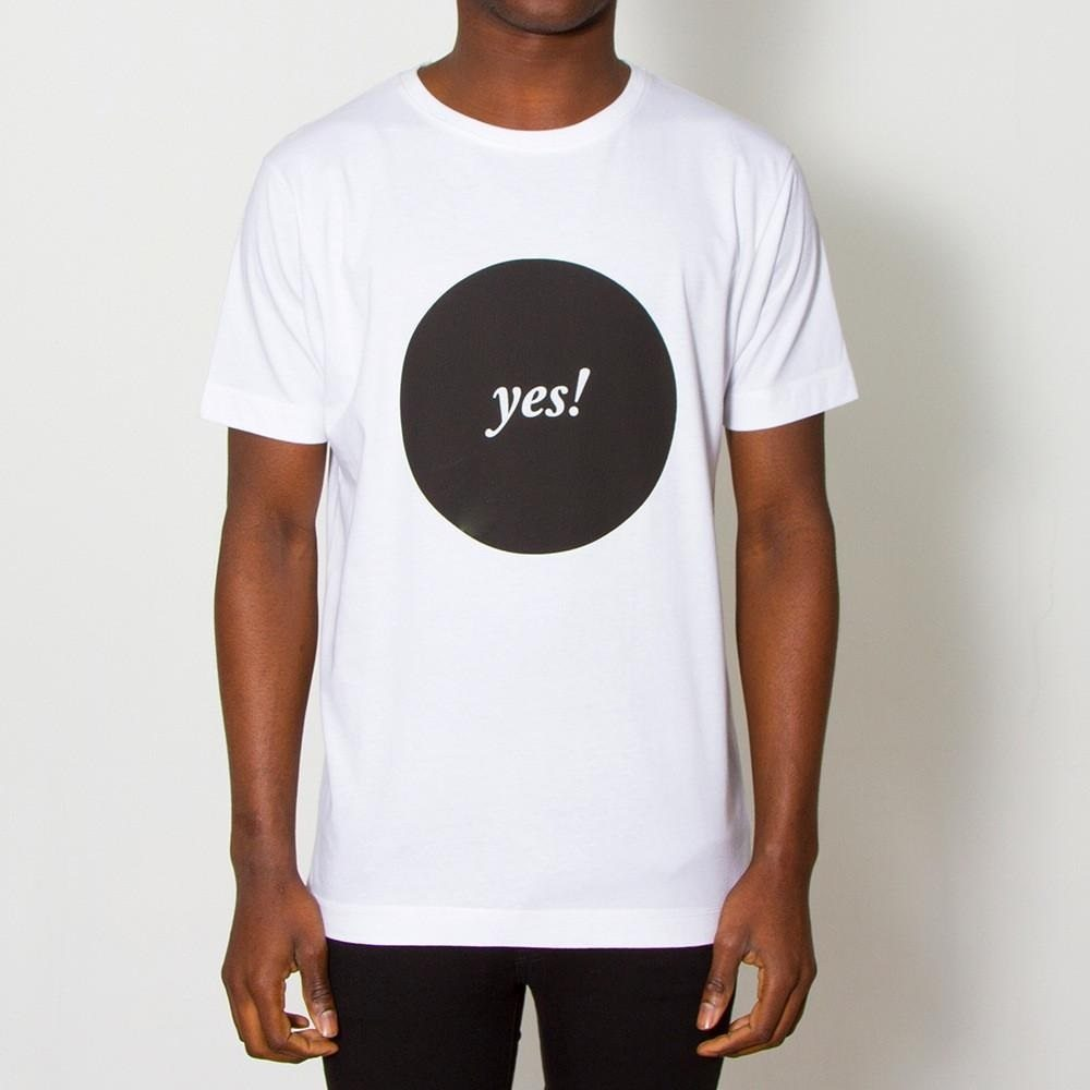 Yes! T-Shirt by Wasted Heroes