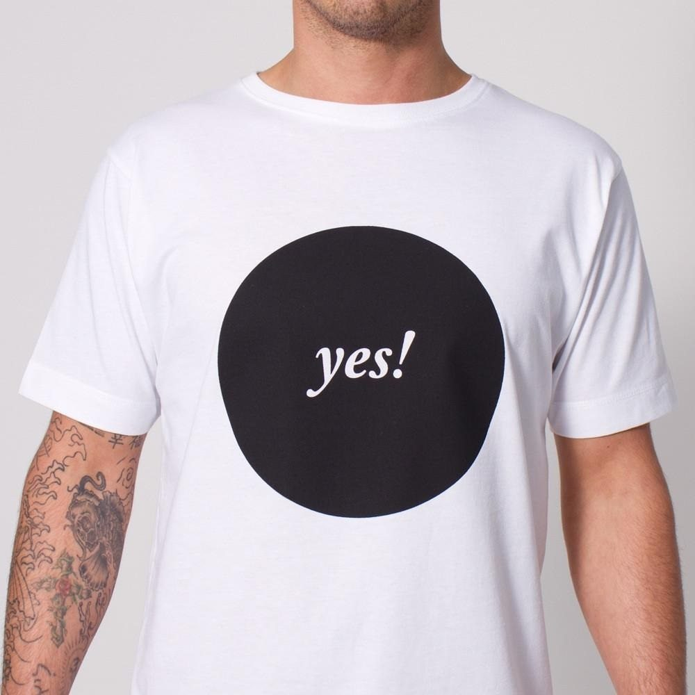 Yes t shirt by wasted heroes gadget flow for T shirt printing api