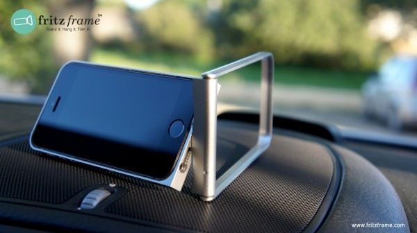 The fritzframe is the Swiss Army Knife of iPhone Cases in a Sleek Aluminum Package