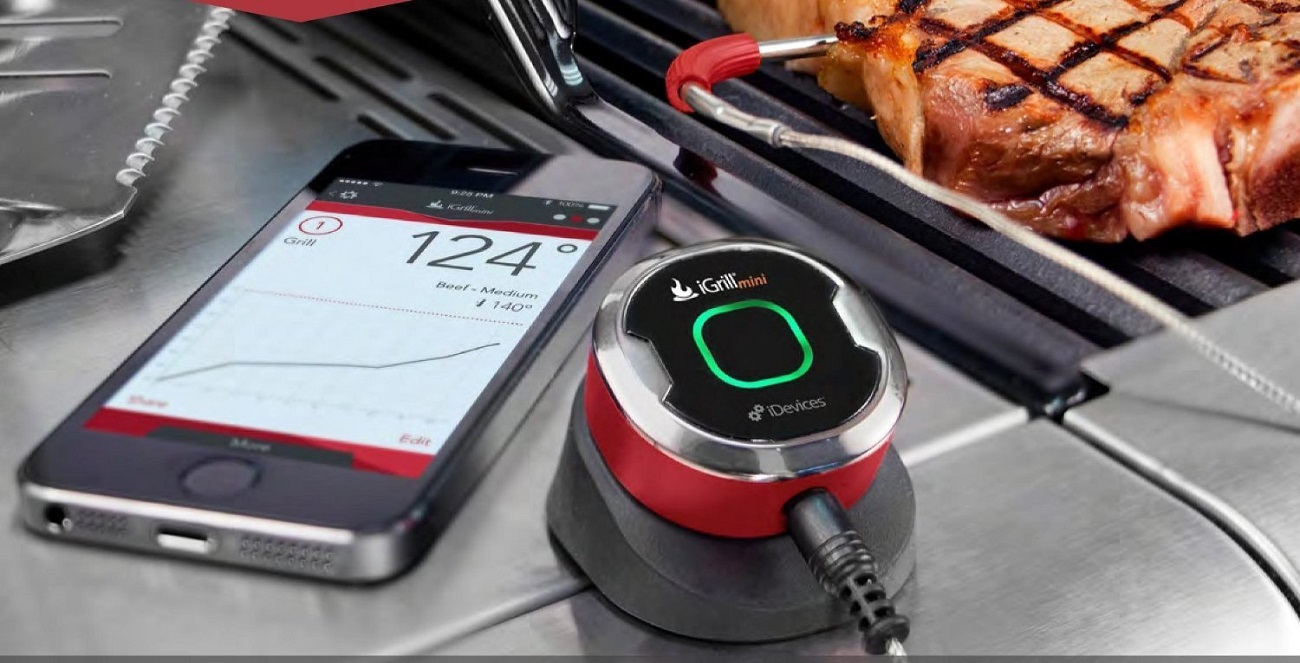 iDevices IGR0001 iGrill Thermometer, Mini