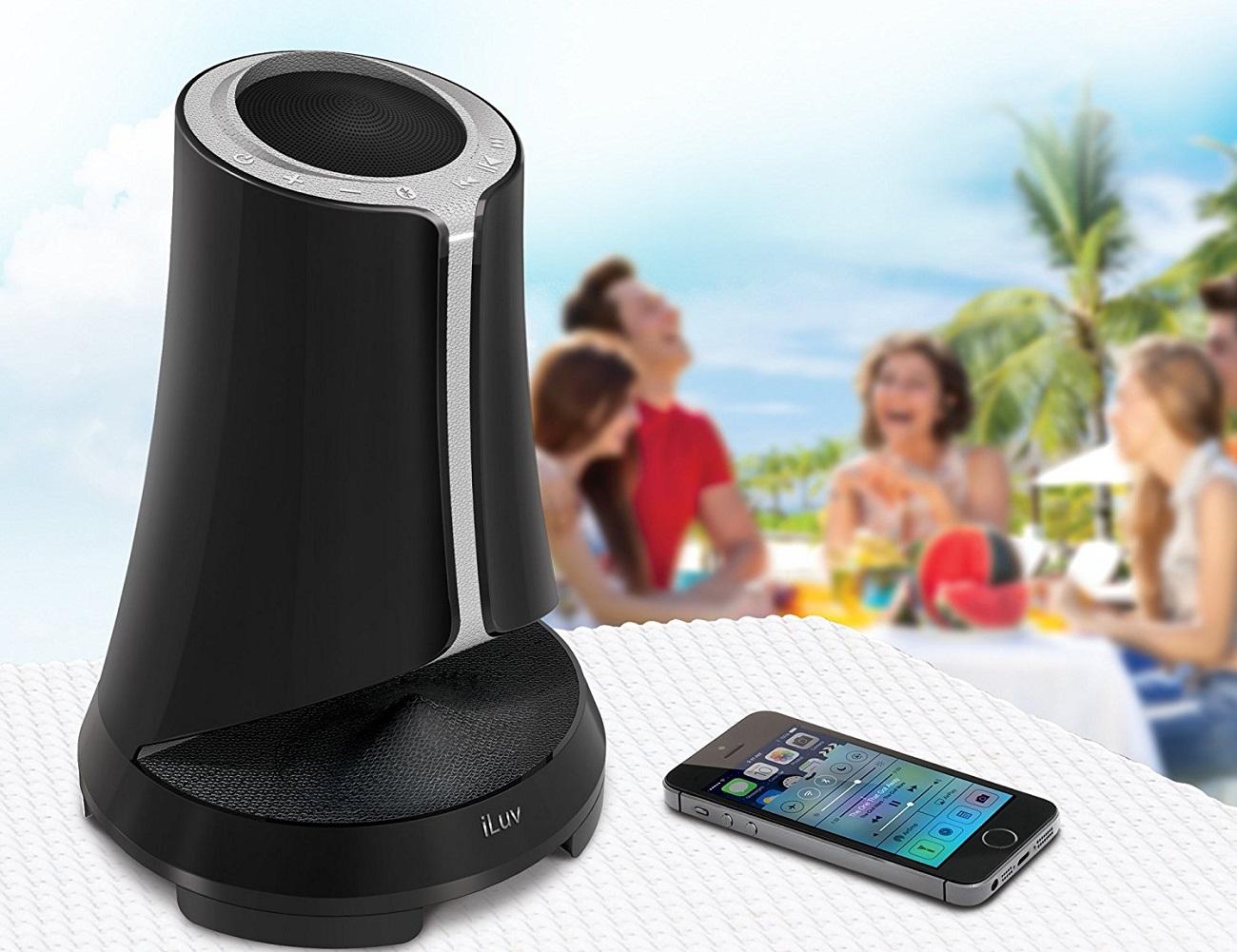 iLuv Syren Pro Outdoor Bluetooth Speaker