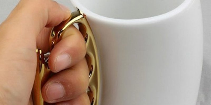 Fisticup Knuckleduster Mug