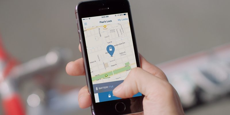Skylock mobile app for better bike connectivity
