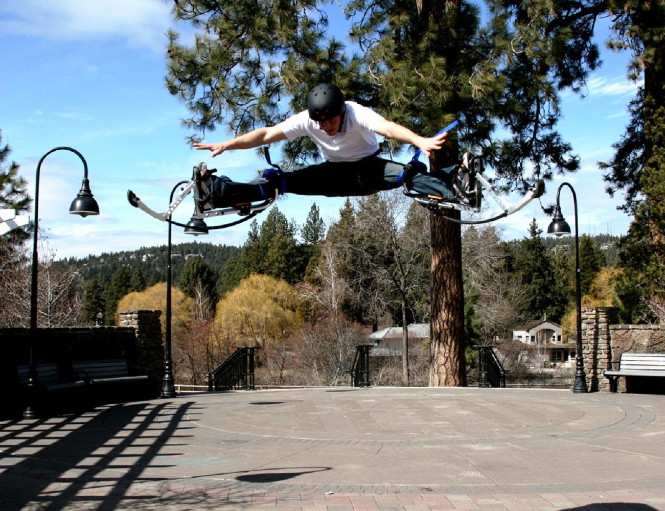 10+Foot+High+Jumping+Stilts