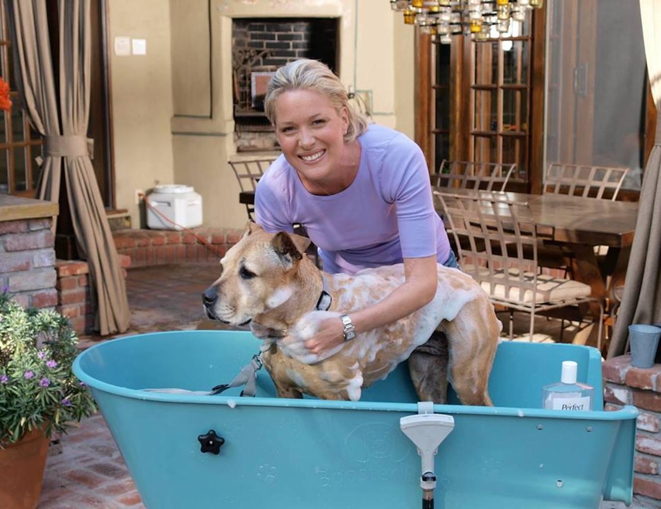 Booster Bath Elevated Dog Wash Tub