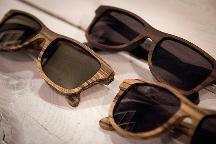 Canby+Zebrawood+Sunglasses+By+Shwood