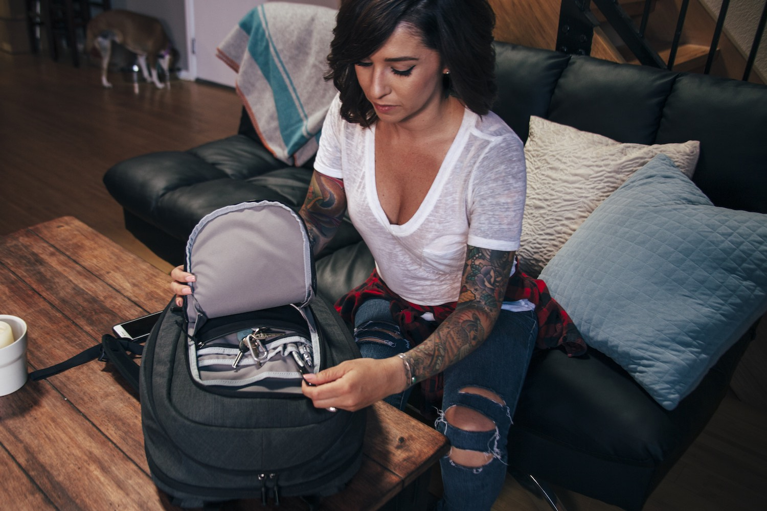 The Colfax Travel Smart Pack by CO.ALITION