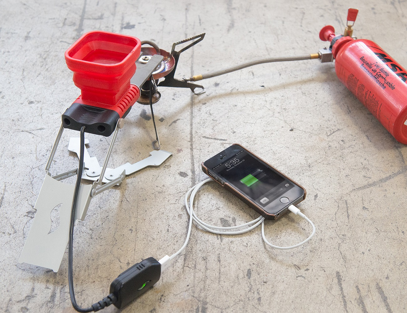 FlameStower Mobile Device Charger