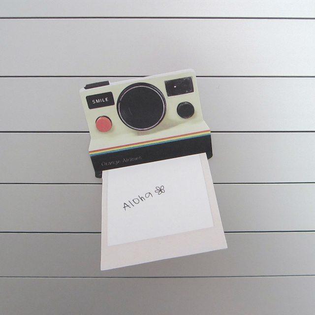 Instant Camera Sticky Notes