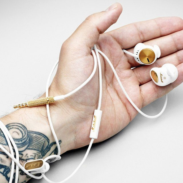 Marshall Minor White In-Ear Headphones