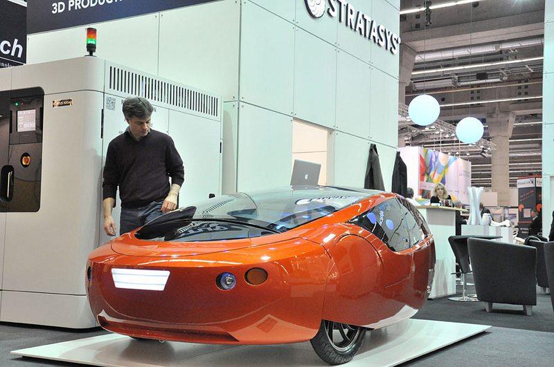 3D constructed car