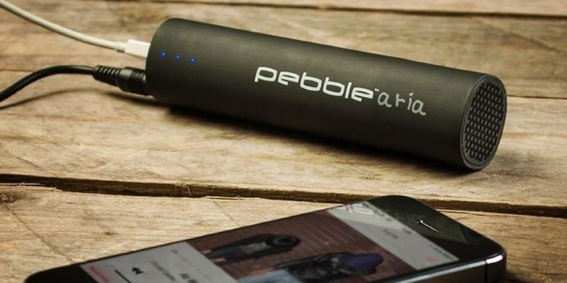 Pebble Aria Speaker + Charger