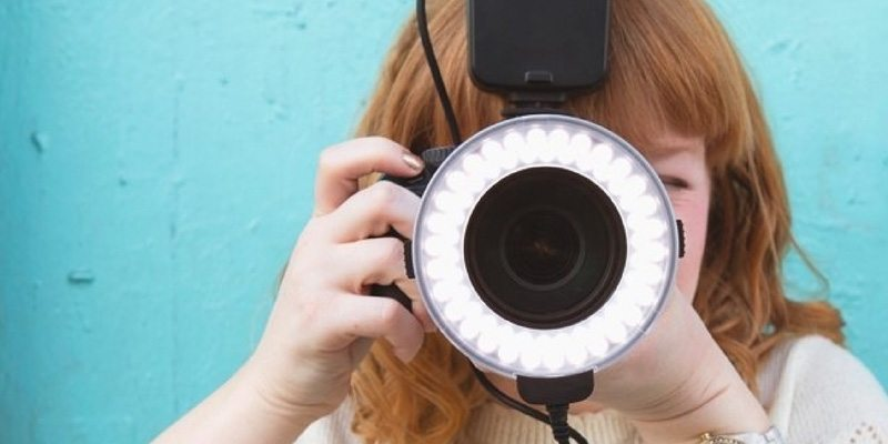 Flashmate Ring Camera Light by GiSTEQ
