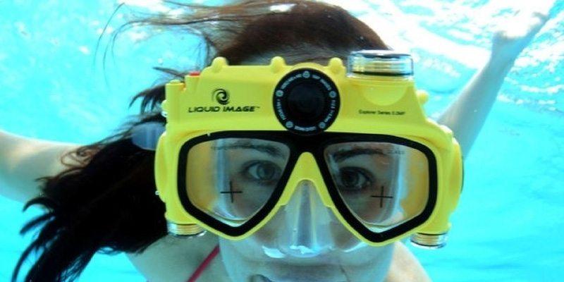 Underwater Digital Camera Swim Mask
