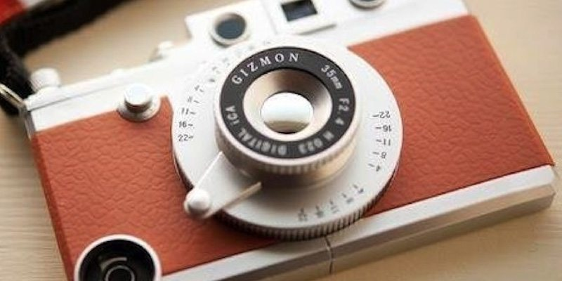 Gizmon Vintage Camera Case For iPhone 5