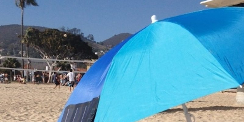 Clip-on Umbrella Solar Charger