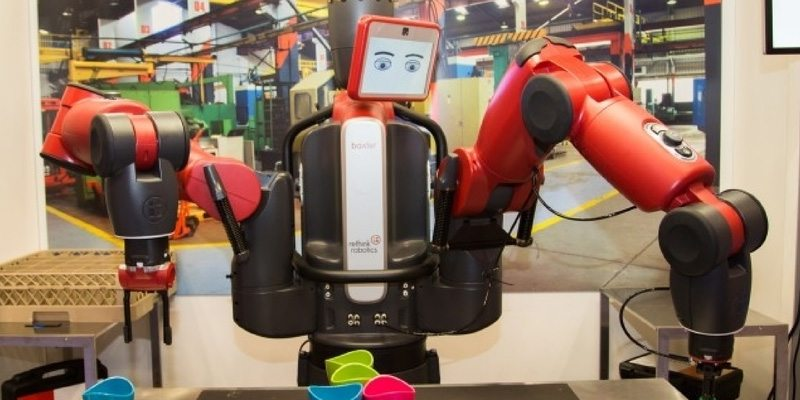 Baxter factory robot