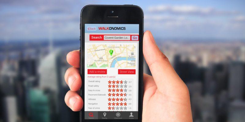 Walkonomics app