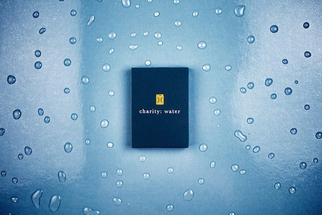 Charity Water Playing Cards