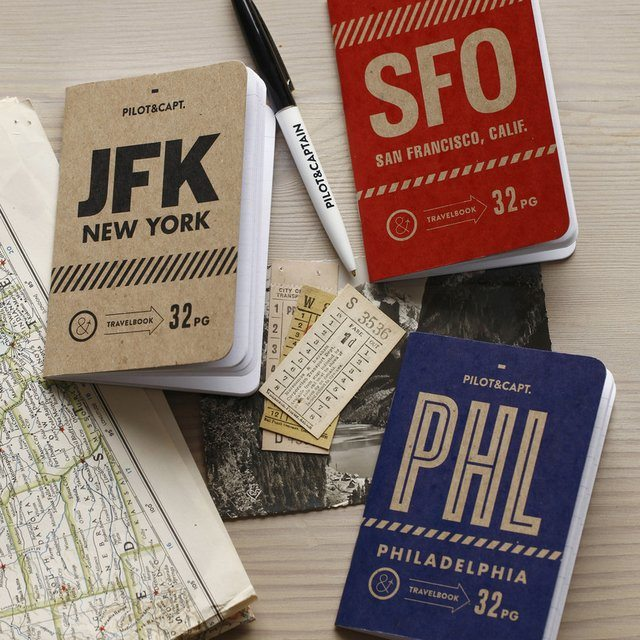 City Notebook Pack by Pilot and Captain