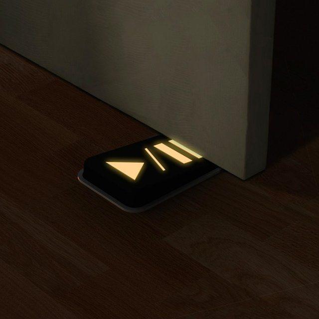 Door Pause Glow in The Dark Doorstop