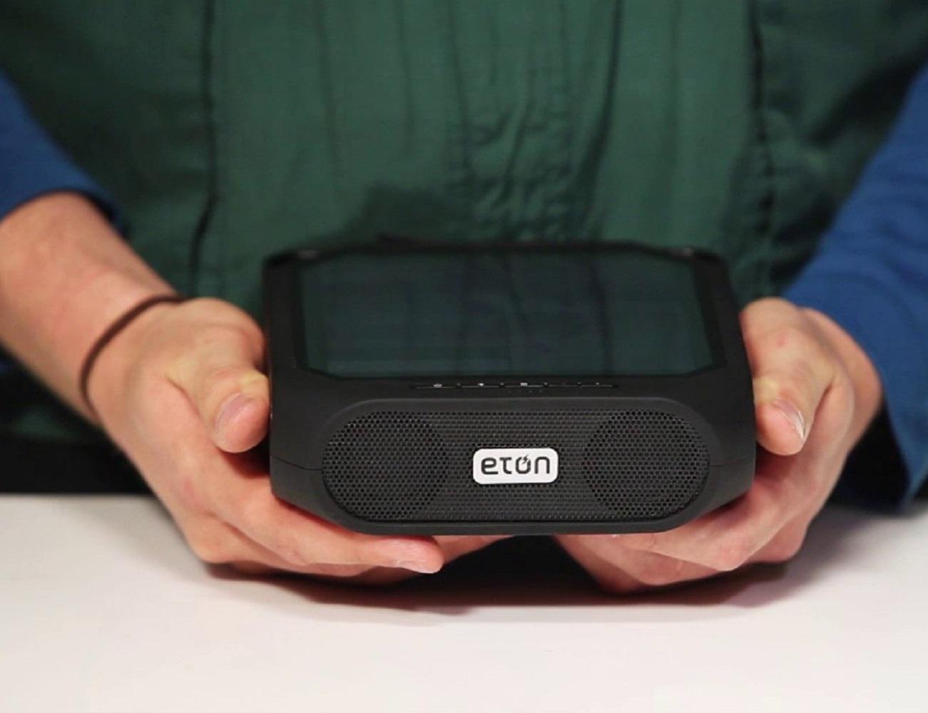 Eton Rugged Rukus Solar Sound System