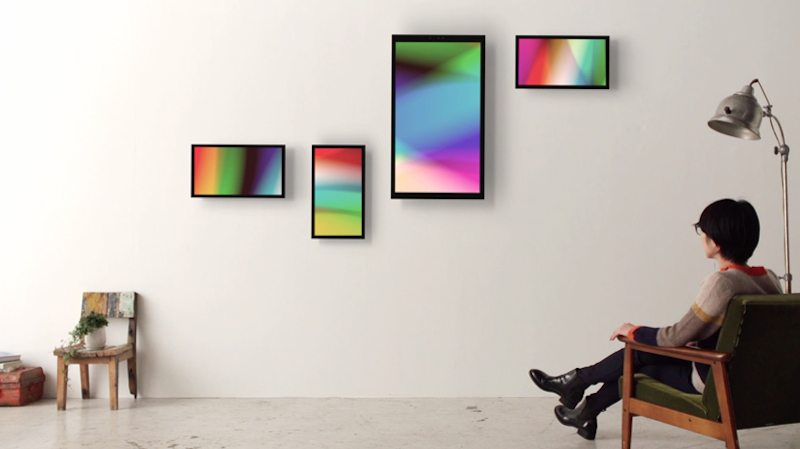 FRAMED Brings Digital Art to Your Walls