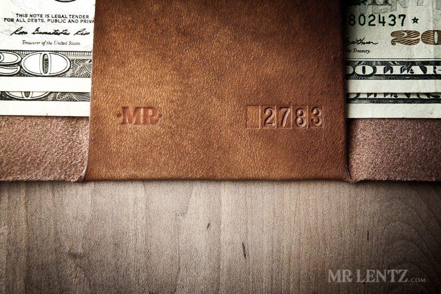 Minimal Trifold Wallet