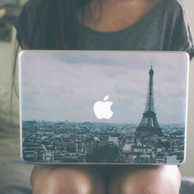 Paris MacBook Skin