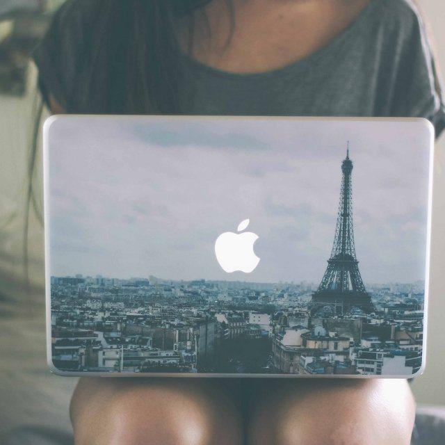 Paris+MacBook+Skin