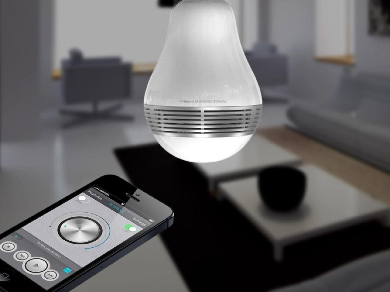 PlayBulb Smart LED Speaker Bulb