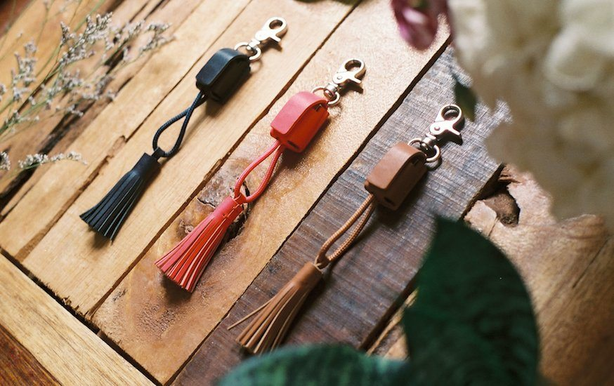 Power Link Tassel Key Chain by Native Union