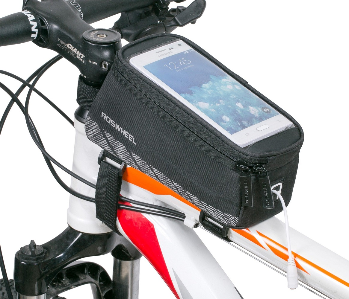 Roswheel+Bike+Frame+Front+Tube+Bag