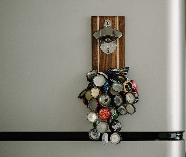 Stout Magnetic Bottle Opener by DropCatch