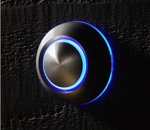 True Illuminated Doorbell by Spore