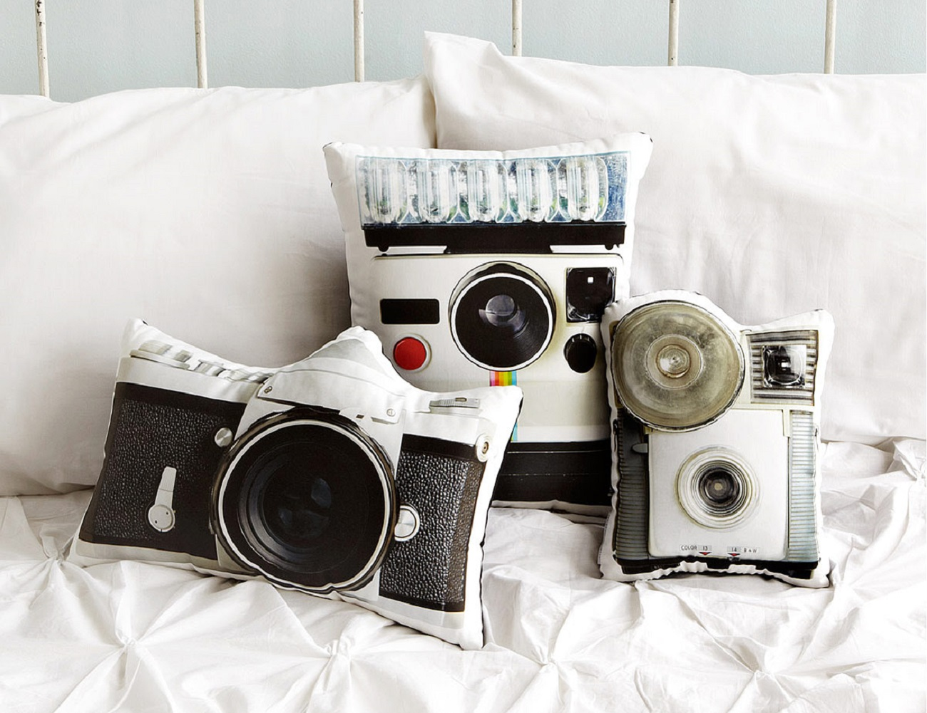 Vintage+Camera+Pillows+By+In+The+Seam