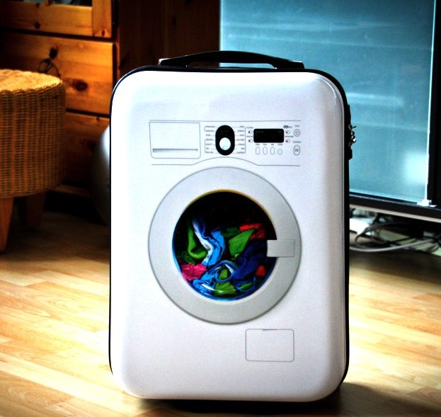 Washing Machine Suitcase by