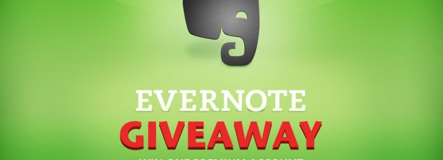 Giveaway of the Week #45 – Win one Premium Evernote Account Free For Life!