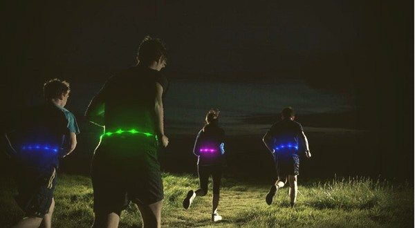 Glowbelt's Retractable LED Road Safety Belt Brings High-End Visibility For Nocturnal Riders and Pedestrians